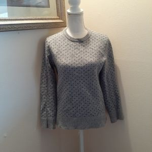 J.crew lambswool sweater medium